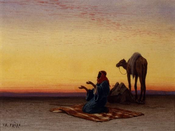 Arab at Prayer