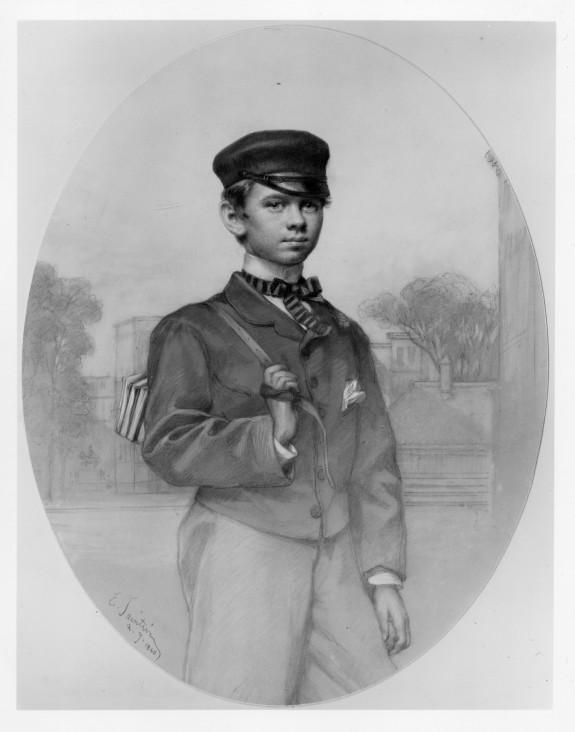 Schoolboy (Portrait of Henry Walters at Age Twelve?)