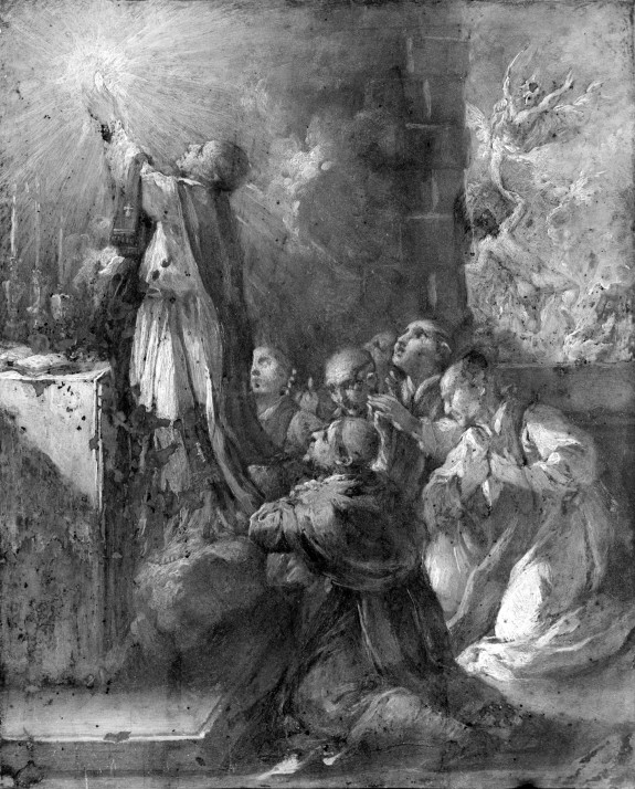 St. Gregory the Great Releasing a Soul from Purgatory