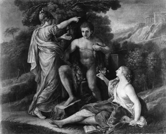 Wisdom and Pleasure Honoring Hercules