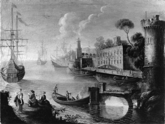 View of a Seaport