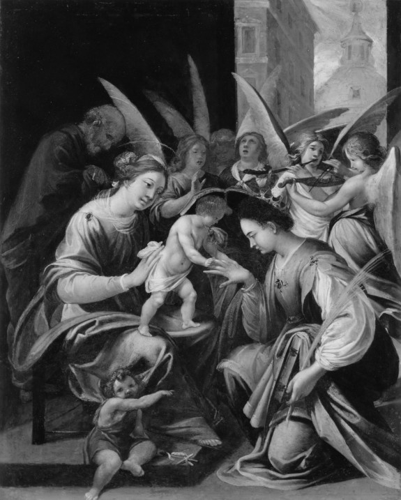 The Mystical Marriage of St. Catherine of Alexandria