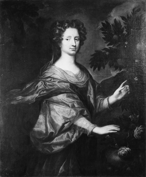 Portrait of a Lady with Roses