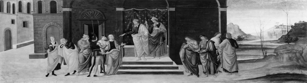 The Story of Susanna: her Condemnation
