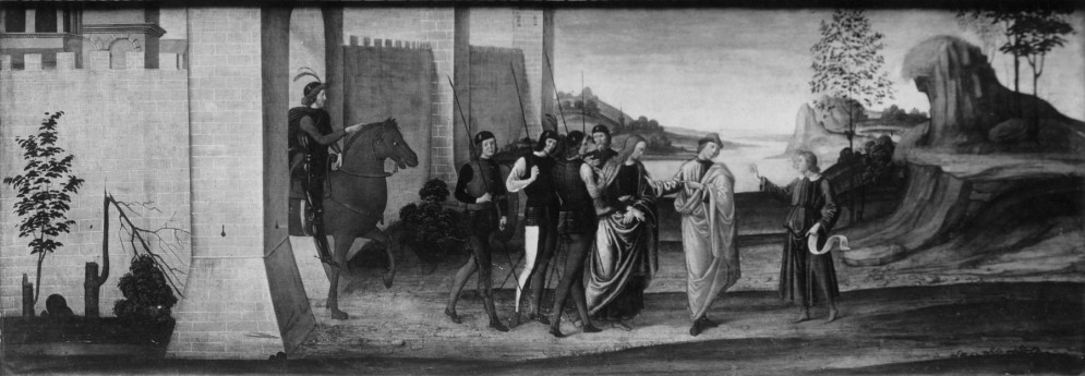 The Story of Susanna: Susanna Led to the Place of Execution