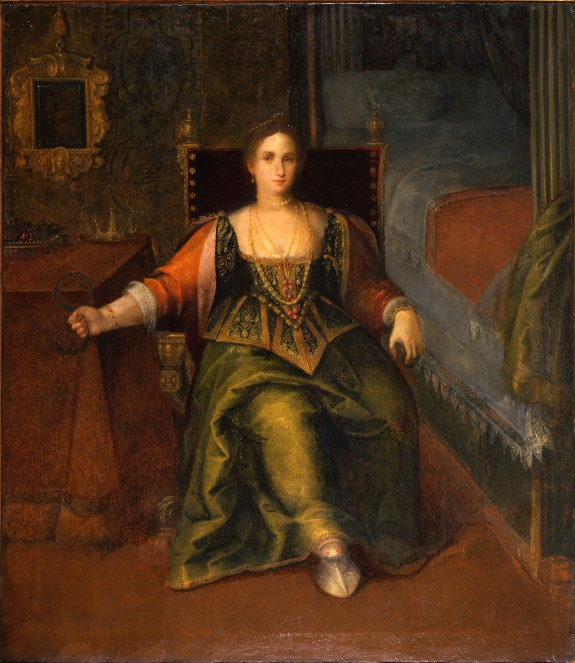 Portrait of a Woman as Cleopatra