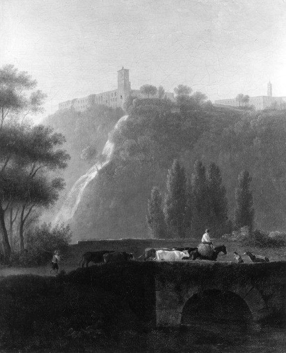 Landscape, the Cascades of Tivoli