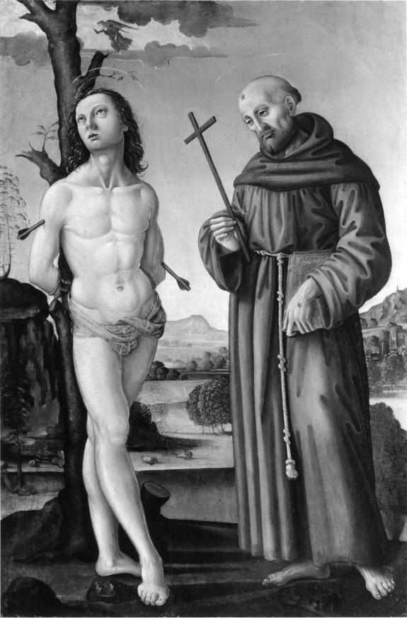 Saint Sebastian and Saint Francis of Assisi