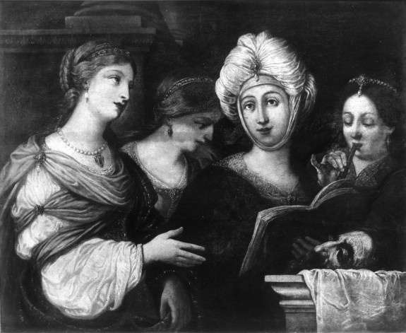 The Women of Bethulia Celebrating the Triumph of Judith over Holophernes