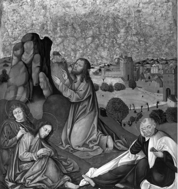 Altarpiece with the Passion of Christ: Christ Praying in the Garden of Gethsemane