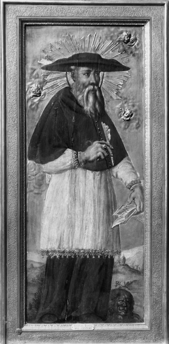 St. Jerome and a Pope