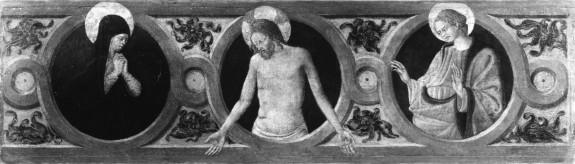 The Dead Christ, the Virgin and St. John the Evangelist