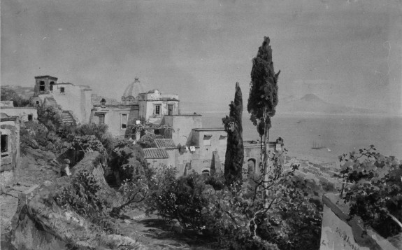 Posilipo, Looking towards Naples