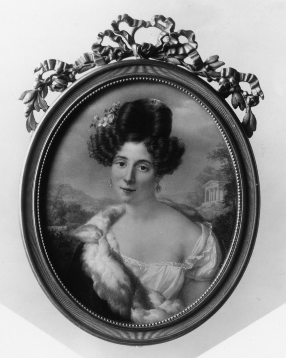 Portrait of a woman (Mlle. Georges?)