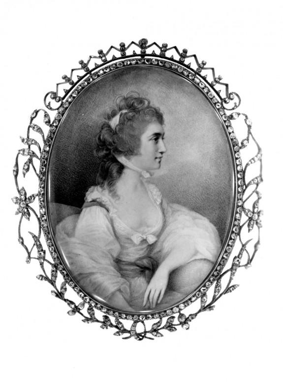 Portrait of Elizabeth Farren (later Countess of Derby)