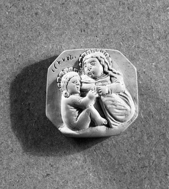 Virgin and Child Pendant