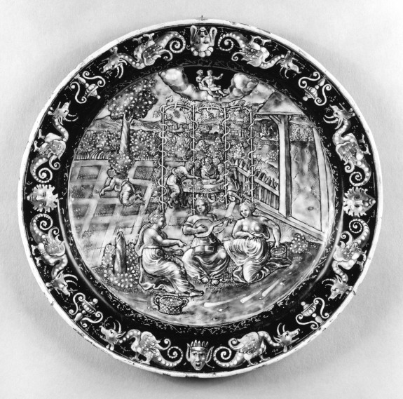 Plate Depicting the Month of May