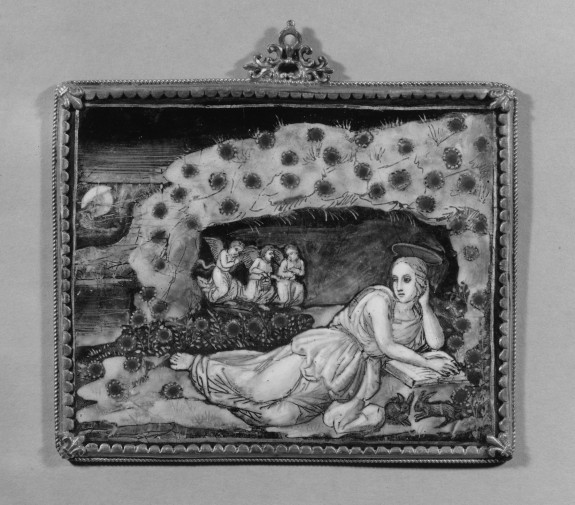 Plaque with the Penitent St. Mary Magdalen