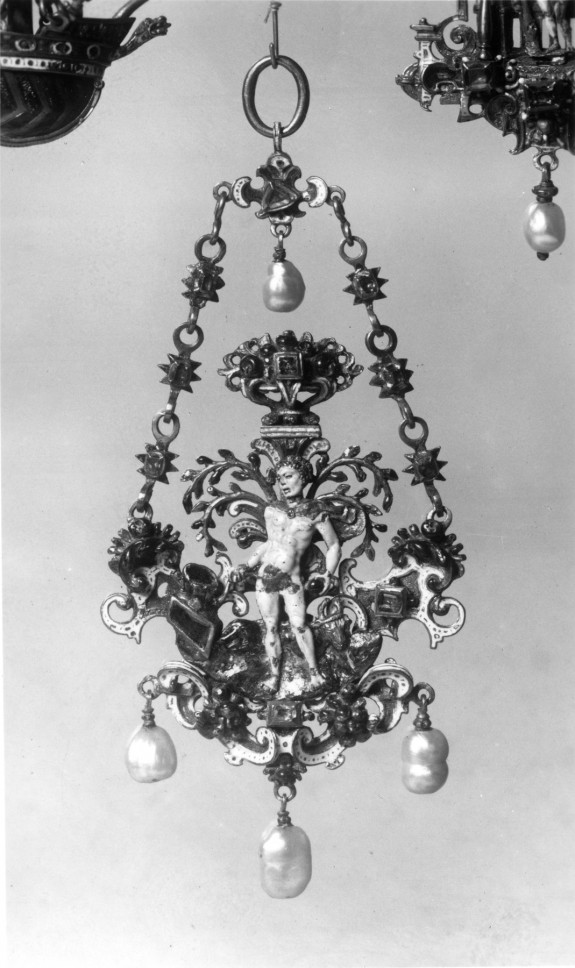 Pendant with Adam Holding the Apple