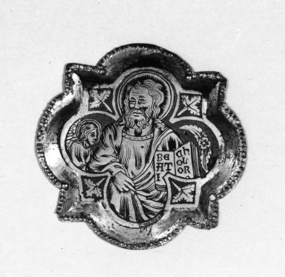 St. matthew with angel