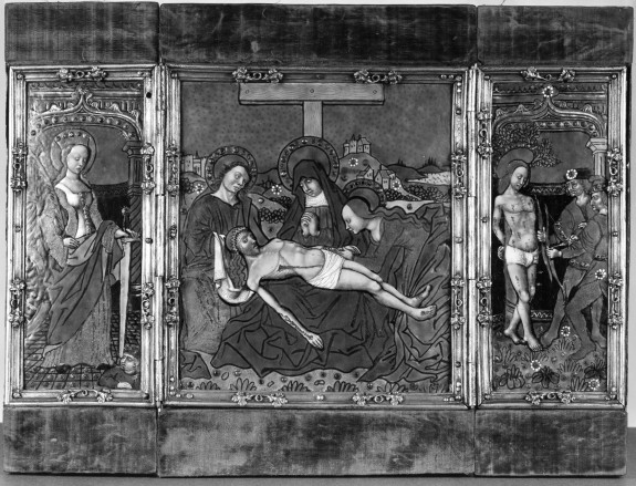 The Pietà with St. Catherine and St. Sebastian