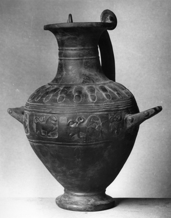 Hydria with Frieze of Lions