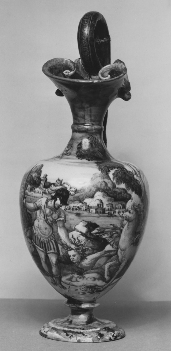 Ewer with Perseus Holding the Head of Medusa