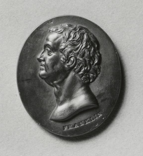 Portrait Medallion of Benjamin Franklin