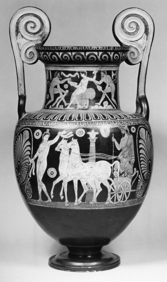 Volute Krater with Tinia (Zeus)