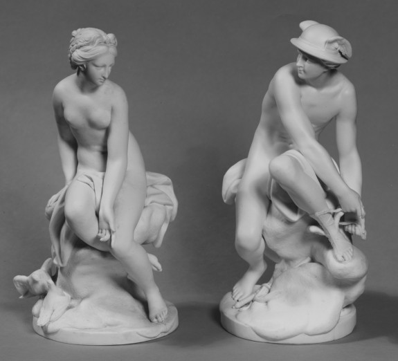 Statuettes of Venus and Mercury