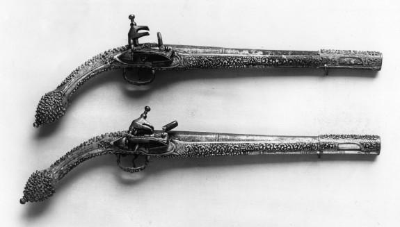 Pistol with Flintlock