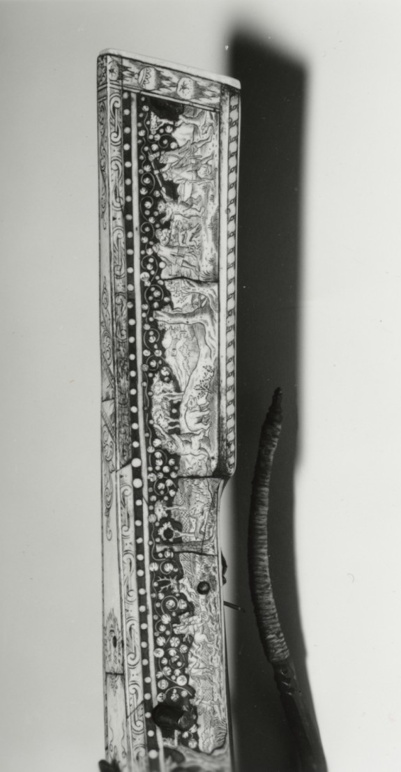 Sporting Crossbow with Decoration of Hunting Scenes