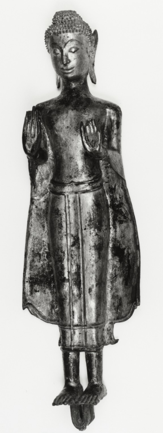 Standing Buddha, with Both Hands in