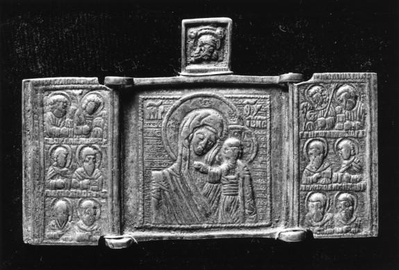 The Virgin of Kazan with Saints