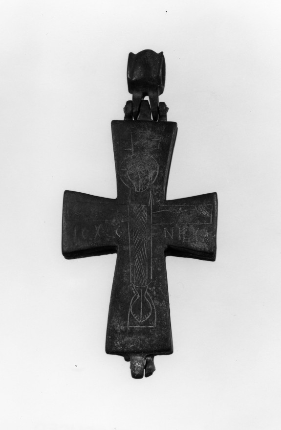 Pectoral Reliquary Cross with the Crucifixion and the Virgin