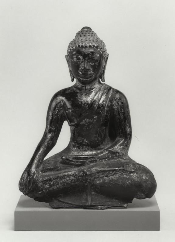 Seated Buddha in
