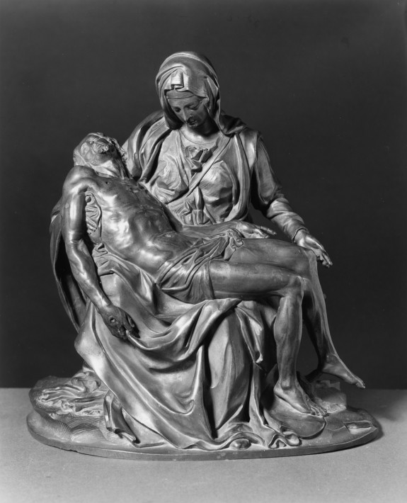 Pieta/reduced copy after marble in St.P