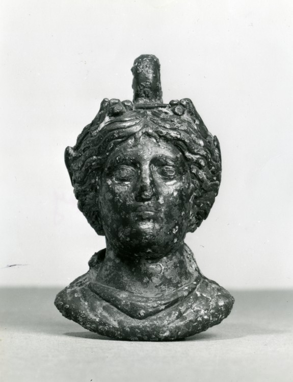 Counterweight in the Shape of a Maenad's Head
