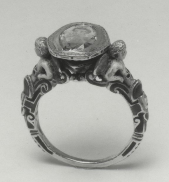 Ring with Portrait of a Woman