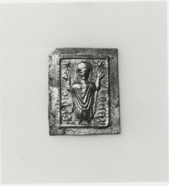 Votive Plaque with a Female Saint