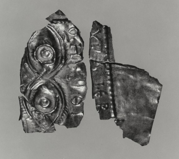 Plaque with Pair of Eyes Symbolizing the All-seeing Power of God