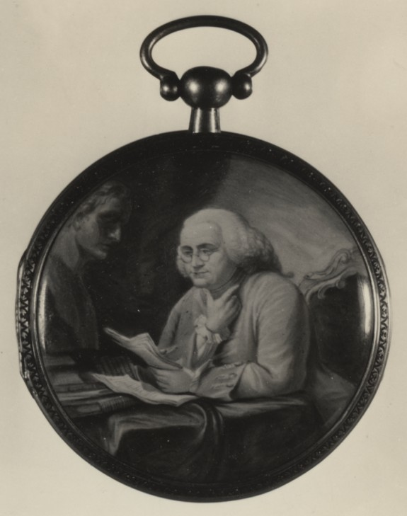Watch with Benjamin Franklin