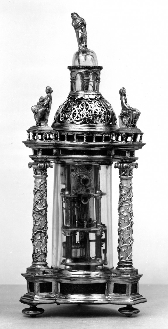 Alarm Clock in a Reliquary-Like Case