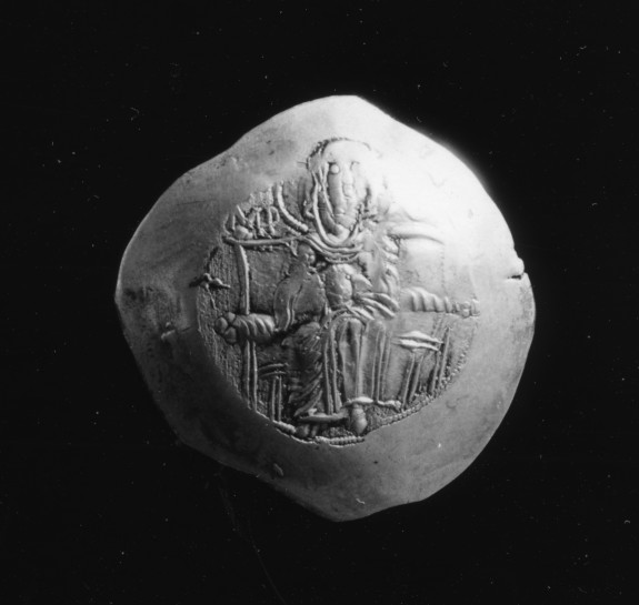 Electrum Coin (Trachy) of Isaac II