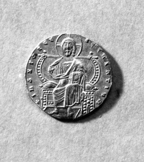 Gold Coin (Solidus) of Constantine VII and Romanus I