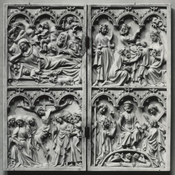 Nativity, Adoration of the Magi, Crucifixion, Last Judgement