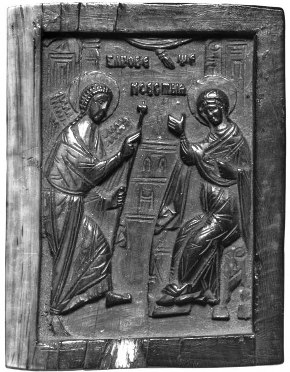 Annunciation / Saint Nicholas