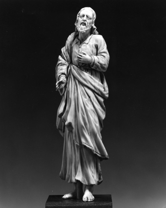 Figure of a Barefoot Man, Possibly Saint Joseph