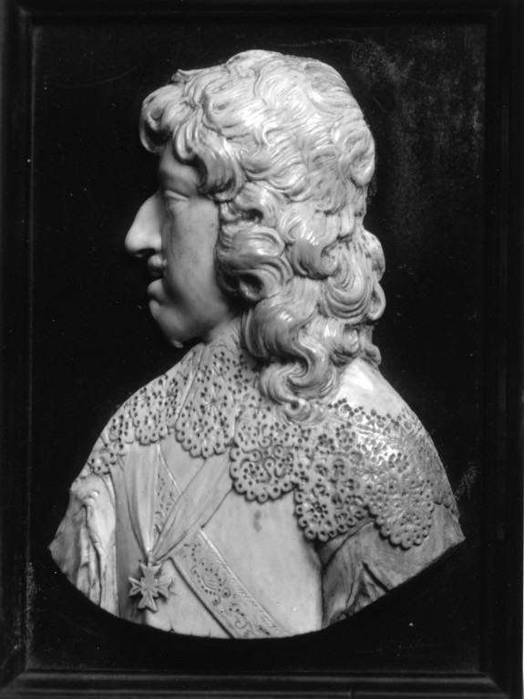 Plaque with the Profile of a Man, Possibly Armand de Bourbon, Prince of Conti