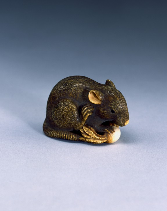 Netsuke in the Form of a Rat